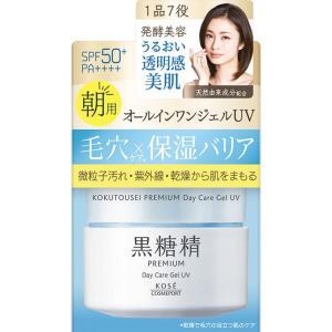 コーセー 黒糖精 プレミアム デイケアジェルUV 100g|matsumotokiyoshi