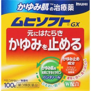 【第3類医薬品】 池田模範堂 かゆみ肌修復ムヒソフトGX 100g