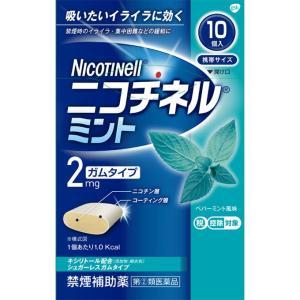 グラクソ・スミスクライン ニコチネル ミント 10個【指定第2類医薬品】|matsumotokiyoshi