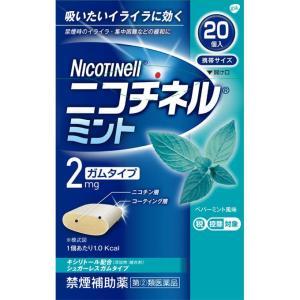 グラクソ・スミスクライン ニコチネル ミント 20個【指定第2類医薬品】|matsumotokiyoshi