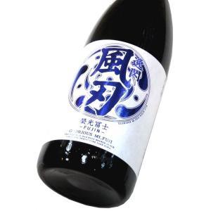 栄光冨士 辛口純米酒「逸閃 風刃(いっせん・ふうじん)」 1800ml(1本) | 栄光冨士/山形|matsumotoya
