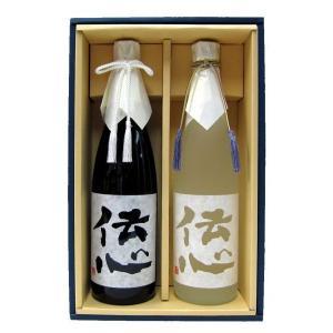 伝心 (凜・雪)セット ギフト箱入り | おすすめの贈答酒・贈答品|matsumotoya