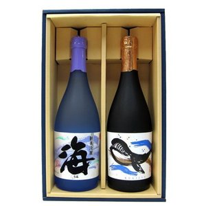 海・くじらのボトルセット ギフト箱入り | 大海酒造/海・海王 他|matsumotoya