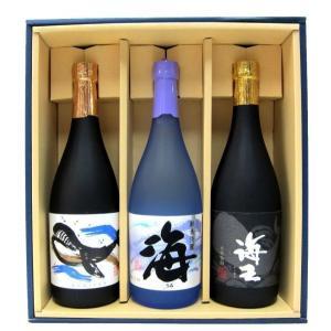 海・海王・くじらのボトルセット ギフト箱入り | 大海酒造/海・海王 他|matsumotoya