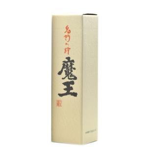 魔王 化粧折箱(1,800ml用)   蔵元グッズ matsumotoya