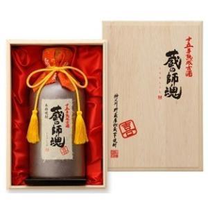 蔵の師魂 喜(十五年熟成古酒・桐箱入り) 720ml(1本) | 小正醸造/蔵の師魂 他|matsumotoya