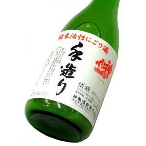 神亀 純米活性にごり酒(令和1BY) 720ml(1本) クール便 | 発泡性清酒・にごり酒|matsumotoya