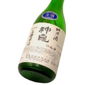 神亀 上槽中汲純米生酒(令和1BY) 720ml(1本) クール便 | 神亀/埼玉|matsumotoya