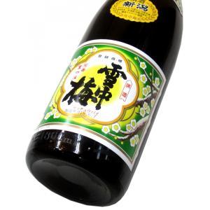 雪中梅 普通酒 1800ml(1本)   雪中梅/新潟 matsumotoya