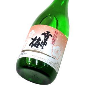 雪中梅 特別純米酒(専用化粧箱入り) 720ml(1本)   おすすめの贈答酒・贈答品 matsumotoya