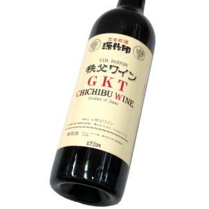 源作印ワイン GKT(赤) 720ml(1本) | 秩父ワイン/源作印 他|matsumotoya