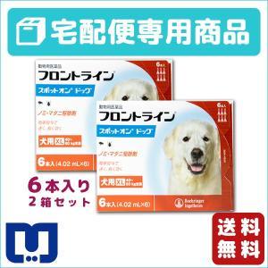 フロントライン スポットオン 犬用 (40〜60kg) 6ピペット 2箱セット 動物用医薬品 【宅配便】