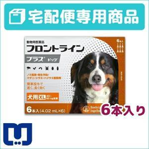 フロントラインプラス 犬用 XL (40〜60kg) 6ピペット 動物用医薬品 【宅配便】