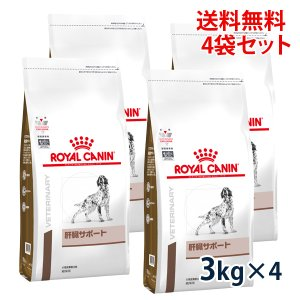 C:ロイヤルカナン 犬用 肝臓サポート 3kg (4袋セット) 療法食 賞味期限:2020/10/27以降(08月現在)|matsunami