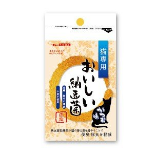 C:DRS.CHOICE おいしい納豆菌 猫専用 ふりかけタイプ かつお味 80g 賞味期限:2020/03/19以降(06月現在)|matsunami