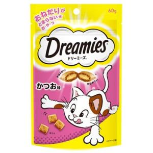 C:ドリーミーズ (Dreamies) かつお味 60g賞味期限:2020/10/01以降(07月現在)|matsunami