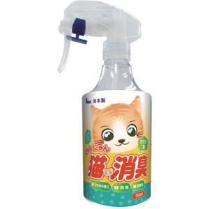 C:にゃんにゃん 猫消臭 ひのきの香り 本体 350mL|matsunami