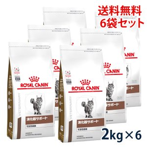 ロイヤルカナン 猫用 消化器サポート (可溶性繊維) 2kg (6袋セット) 療法食 賞味期限:2019/03/09まで(11月現在)|matsunami