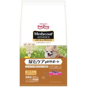 C:ペットライン メディコート pHサポート 11歳から 老齢犬用 3kg(500g×6パック)|matsunami