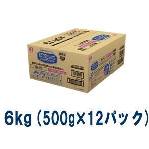 C:ペットライン メディコート アレルゲンカット 魚&お米 7歳から 高齢犬用 6kg(500g×12パック)|matsunami