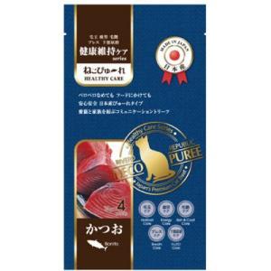 C:ねこぴゅーれ 健康維持ケア かつお 4本 賞味期限:2021/03/05以降(07月現在)|matsunami