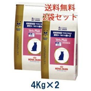 C:ロイヤルカナン ベッツプラン 猫用 フィーメールケア 4kg (2袋セット) 準療法食 賞味期限:2020/08/12以降(06月現在)|matsunami