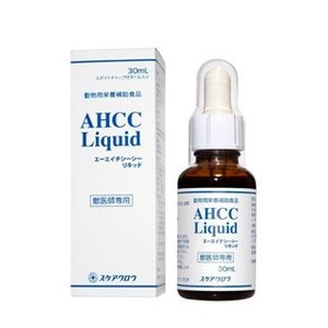 C:犬猫用 AHCC Liquid (AHCCリキッド) 30ml 賞味期限:2021/03/31以降(08月現在)|matsunami