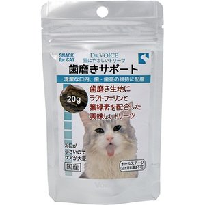 C:ドクターヴォイス 猫にやさしいトリーツ 歯磨きサポート 20g 賞味期限:2020/06/25以降(07月現在) matsunami