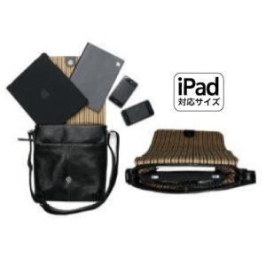iPad がスッポリ収まる!! 牛革のショルダーバッグ|matsuoya|03