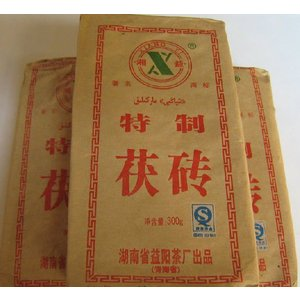 中国茶 発酵茶 健康茶 金の花 茯茶(300gx3個セット) 年末年始|matsurika-jp