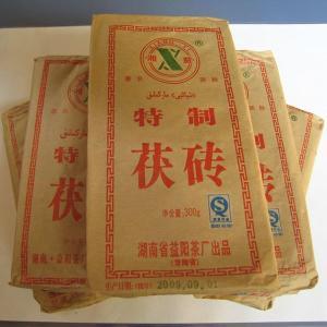 中国茶 発酵茶 健康茶 金の花 茯茶(300gx5個セット) 年末年始|matsurika-jp