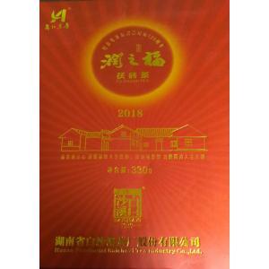 茯磚茶「潤之福」330g 中国茶 全発酵黒茶 記念茶 金の花 年末年始セール中|matsurika-jp