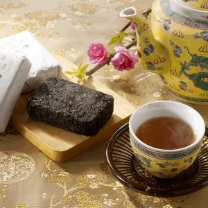 中国茶 発酵茶 健康茶 ギフト 黒磚茶(雅)75g×3個 年末年始|matsurika-jp|02
