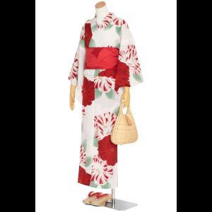 撫松庵のゆかた 麻の葉縞(クロ)|matsuriya-sonami