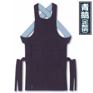 東京江戸一・腹掛(青縞・正藍染) 4号 子供用 ※ matsuriya-sonami