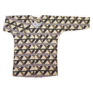 大荒波に天空龍(渋緑)大人鯉口シャツ単品 男女兼用 義若オリジナル matsuriya-sonami