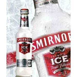 スミノフ アイス275ml瓶×24本入 2ケースまで、1個分の送料で発送可能!