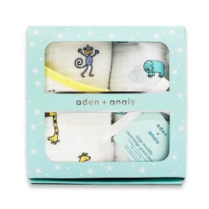 aden&anais  スワドルギフトセット BD006 gift bundleエイデンアンドアネイ 出産祝い プレゼント ギフト|matsuyamachi-man