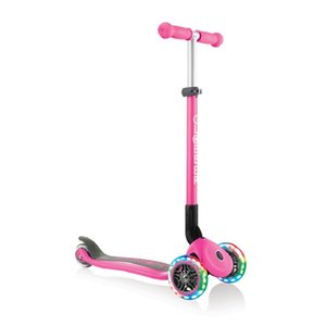 送料無料! GLOBBER プリモ フォールダブル ピンク WLGB432110 ライト 3才から50kgまで  子供用 3輪 キックスケーターギフト|matsuyamachi-man