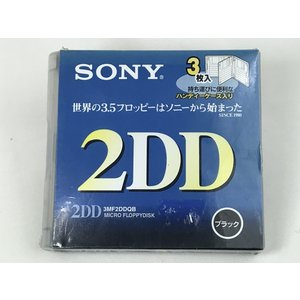 ソニー SONY 3.5インチ 2DD フロッピーディスク  3枚 3MF2DDQB|matt811