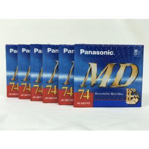 パナソニック Panasonic MD ミニディスク  74分 6枚セット  AY-MD74D|matt811