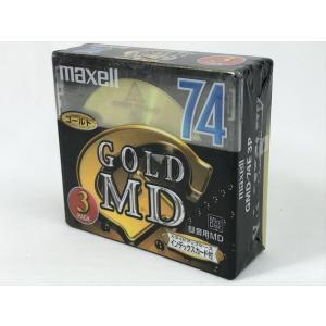 maxell MD GOLD MD 74分 3枚組 GMD-74E 3P ミニディスク|matt811