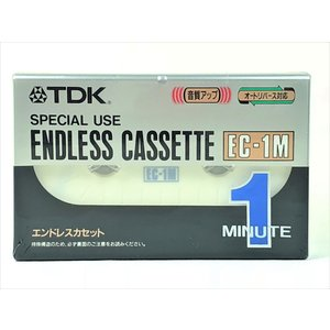 TDK エンドレス カセットテープ 1分 EC-1MA|matt811