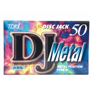 TDK メタル カセットテープ DJ METAL 50分  DJM-50N|matt811