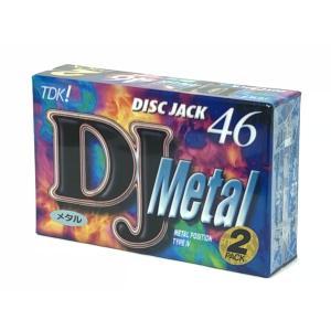 TDK メタル カセットテープ DJ METAL 46分 2本パック  DJM-46x2N|matt811