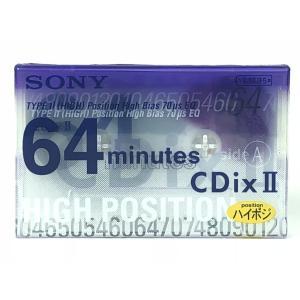 ソニー SONY カセットテープ  CdixII 64分 ハイポジション C-64CDX2F|matt811