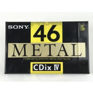 ソニー SONY メタル カセットテープ  CdixIV METAL 46分  入手困難