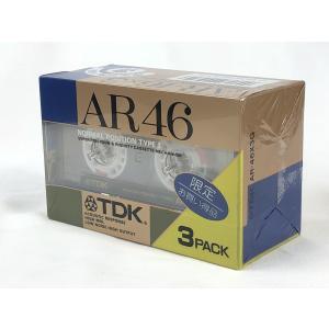 TDK カセットテープ AR 46分 3本パック ノーマルポジション AR-46X3G 旧世代|matt811