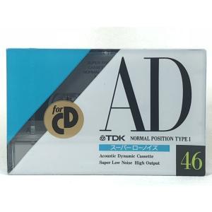 TDK カセットテープ AD 46分 ノーマルポジション AD-46M 旧世代|matt811