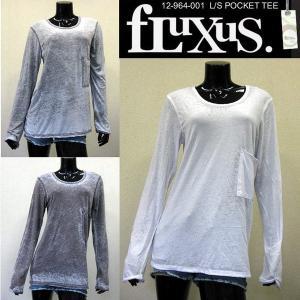 アウトレット価格 フルクサス Fluxus L S POCKET TEE 12-964-001 ルー...